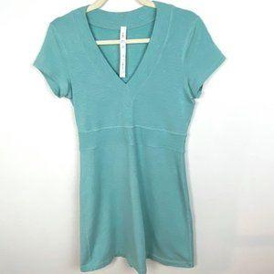Rare Lululemon Cool Out Dress Heather Aruba Size 8